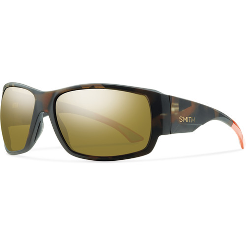 Smith Optics Men's Dockside Polarized Sunglasses (ChromaPop Bronze Mirror Lenses/Howler Matte Tortoise Frames)