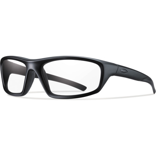 Smith Optics Director Elite Tactical Sunglasses (Black - Clear Lens)