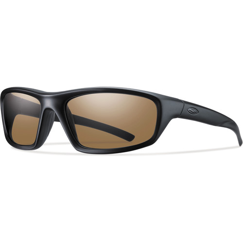 Smith Optics Director Elite Tactical Sunglasses (Black - Polarized Brown Lens)