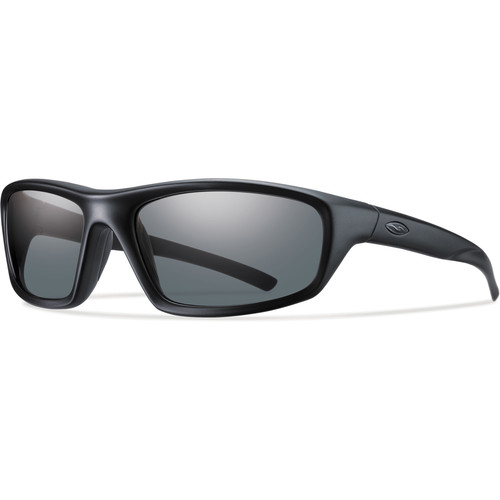Smith Optics Director Elite Tactical Sunglasses (Black - Polarized Gray Lens)