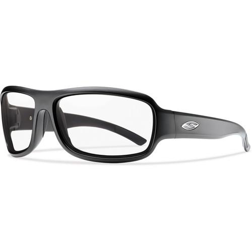 Smith Optics Drop Elite Tactical Sunglasses (Matte Black - Clear Lens)
