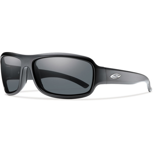 Smith Optics Drop Elite Tactical Sunglasses (Matte Black - Gray Lens)