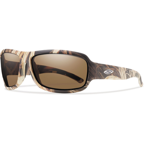 Smith Optics Drop Elite Tactical Sunglasses (Realtree Max-4 - Polarized Brown Lens)