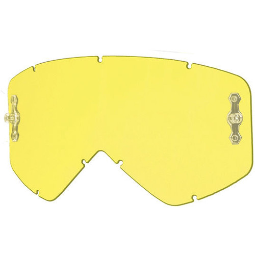 Smith Optics Intake/Fuel Goggle Replacement Lens (Single Layer, Yellow)
