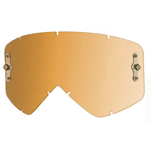 Smith Optics Intake/Fuel Goggle Replacement Lens (Single Layer, Gold Lite)