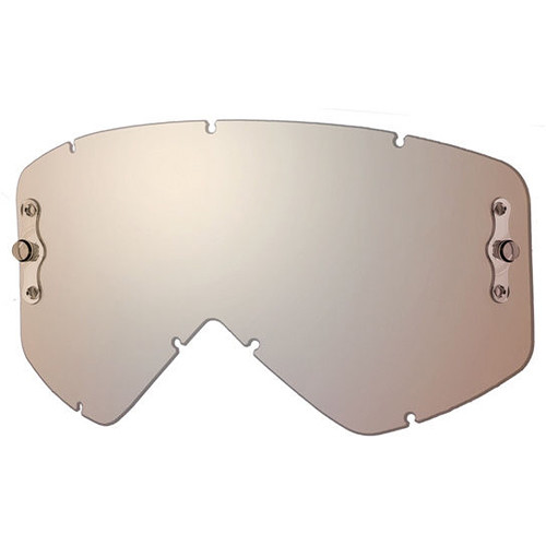 Smith Optics Intake/Fuel Goggle Replacement Lens (Single Layer, Platinum Mirror)