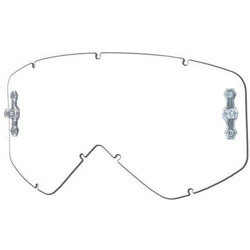 Smith Optics Intake/Fuel Goggle Replacement Lens (Dual Layer, Airflow AFC Clear)