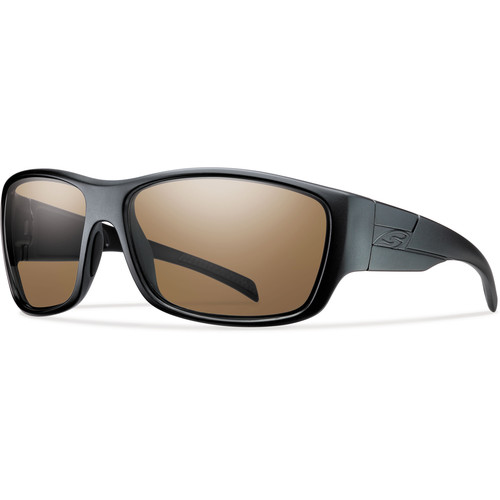 Smith Optics Frontman Elite Tactical Sunglasses (Black - Polarized Brown Lens)