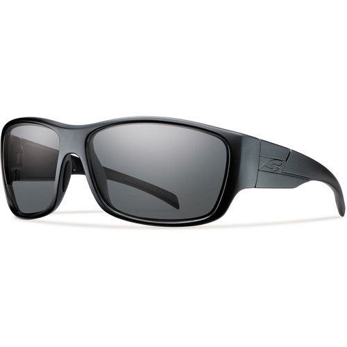 Smith Optics Frontman Elite Tactical Sunglasses (Black - Polarized Gray Lens)