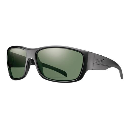 Smith Optics Frontman Elite Ballistic Sunglasses (Black / ChromaPop Polar Gray Green)