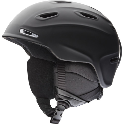 Smith Optics Aspect Snow Helmet (Matte Black, Small)