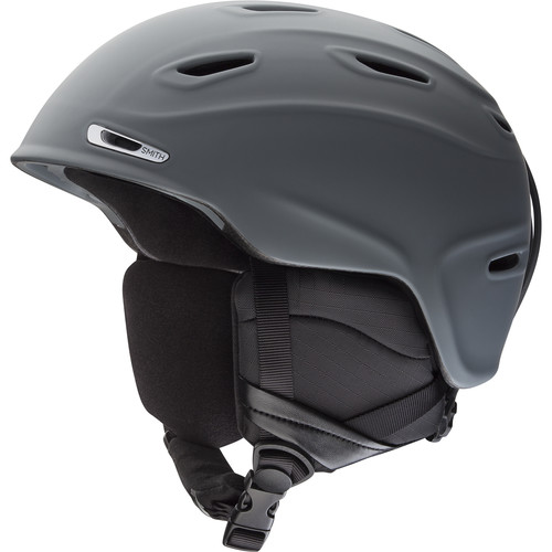 Smith Optics Aspect Snow Helmet (Matte Charcoal, Medium)