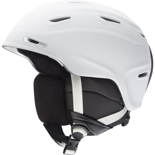 Smith Optics Aspect Snow Helmet (Matte White, Medium)