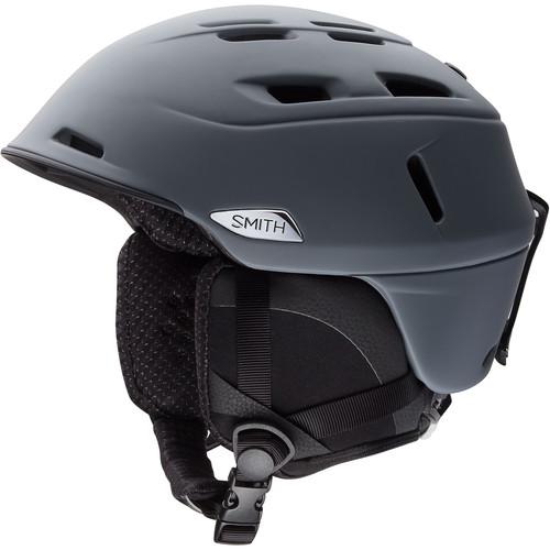 Smith Optics Camber Men's Medium Snow Helmet (Matte Charcoal)