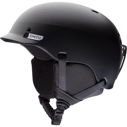 Smith Optics Gage Jr. Youth Medium Snow Helmet (Matte Black)