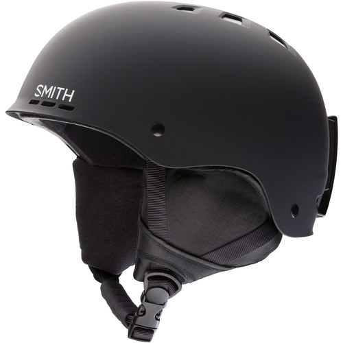 Smith Optics Holt Large Snow Helmet (Matte Black)