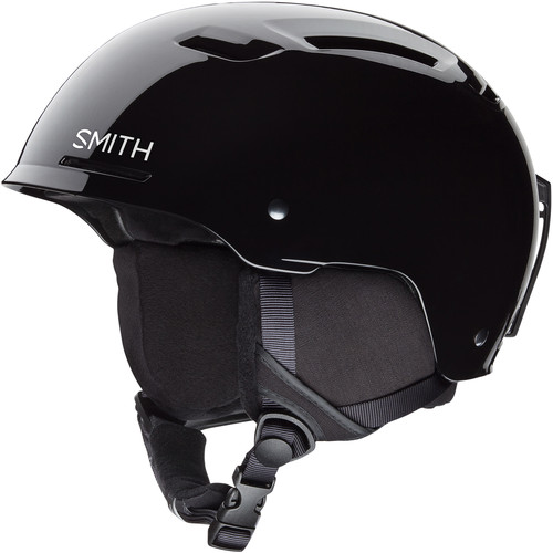 Smith Optics Pivot Jr Small Youth Snow Helmet (Black)