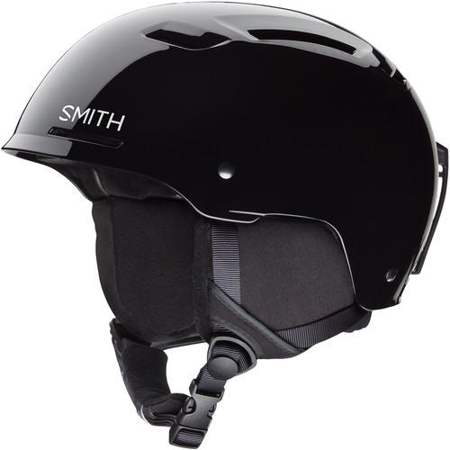 Smith Optics Pivot Jr Medium Youth Snow Helmet (Black)