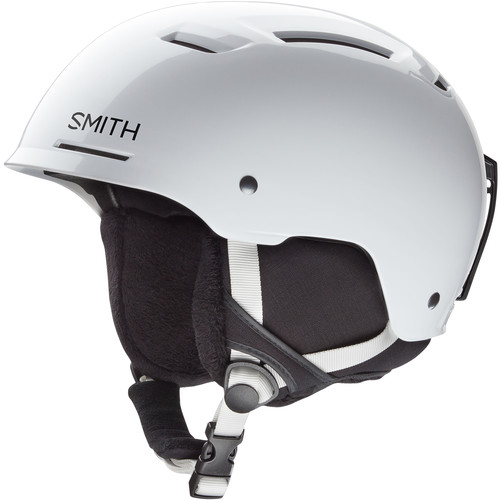 Smith Optics Pivot Jr Small Youth Snow Helmet (White)