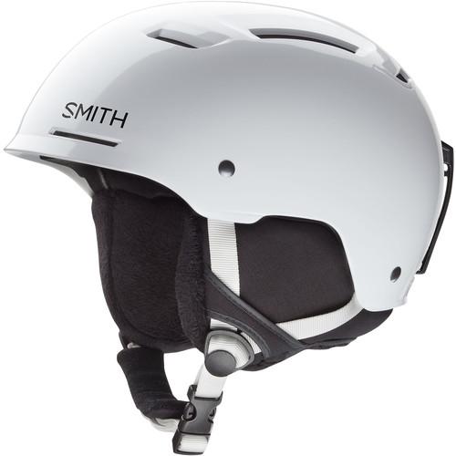 Smith Optics Pivot Jr Medium Youth Snow Helmet (White)
