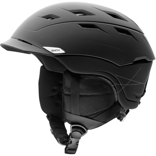 Smith Optics Variance Medium Men's Snow Helmet (Matte Black)