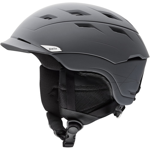 Smith Optics Variance Medium Men's Snow Helmet (Matte Charcoal)