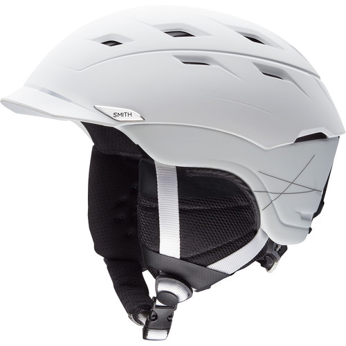 Smith Optics Variance Large Men's Snow Helmet (Matte White)