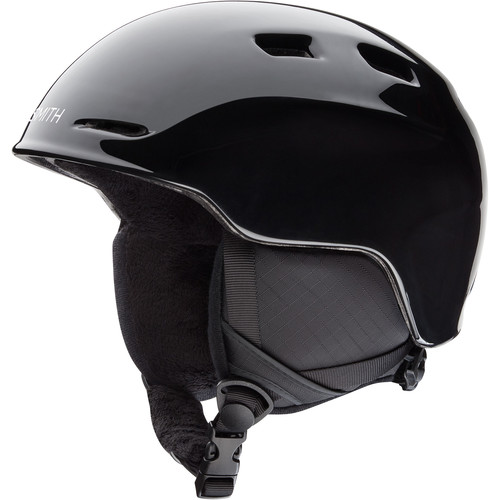 Smith Optics Zoom Medium Youth Snow Helmet (Black)