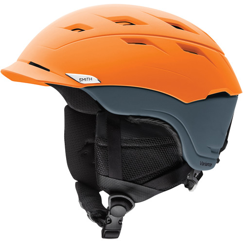 Smith Optics Variance Medium Men's Snow Helmet (Matte Solar Charcoal)