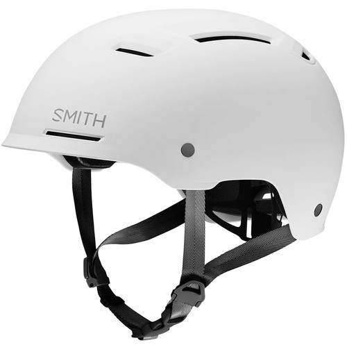 Smith Optics Axle Bike Helmet (Small, Matte White)