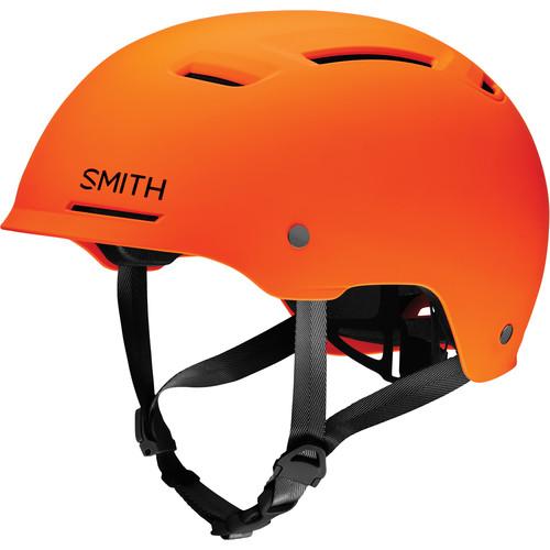 Smith Optics Axle Bike Helmet (Small, Matte Neon Orange)