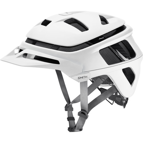 Smith Optics Forefront Racing Bike Helmet (Medium, Matte White)