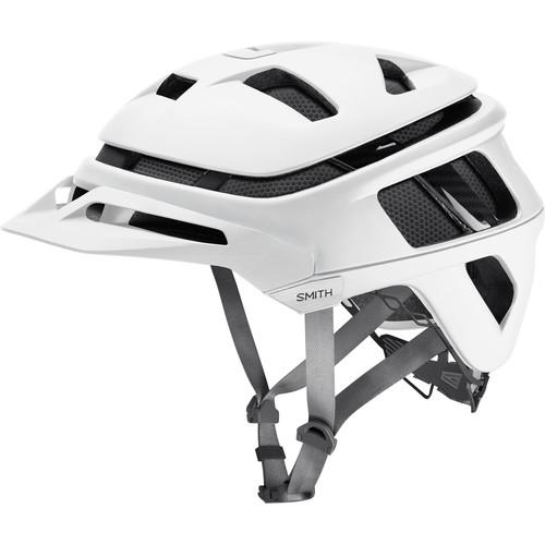 Smith Optics Forefront Racing Bike Helmet (Small, Matte White)