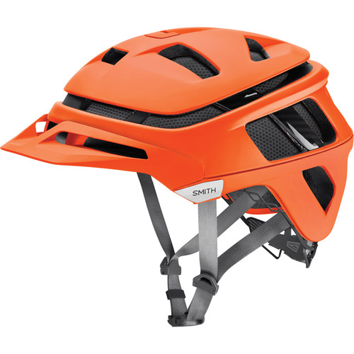 Smith Optics Forefront Racing Bike Helmet (Medium, Matte Neon Orange)