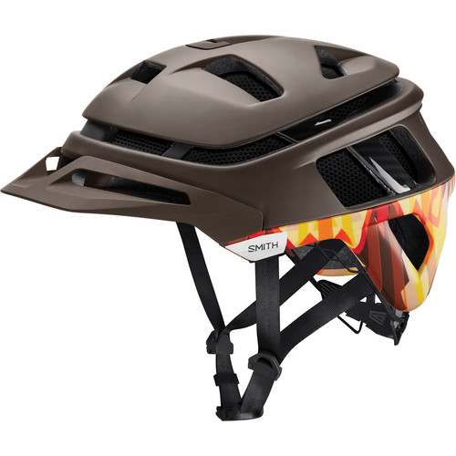 Smith Optics Forefront Racing Bike Helmet (Large, Matte Root/Lasso)