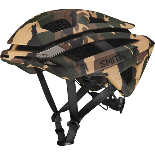 Smith Optics Overtake Bike Helmet (Small, Matte Disruption Camo)
