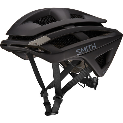 Smith Optics Overtake Bike Helmet (Small, Matte Black)