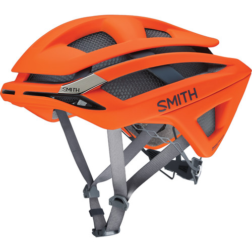 Smith Optics Overtake Bike Helmet (Large, Matte Neon Orange)