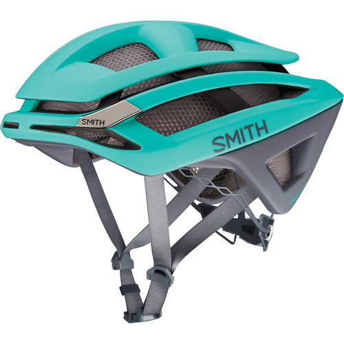 Smith Optics Overtake Bike Helmet (Medium, Matte Opal/Charcoal)