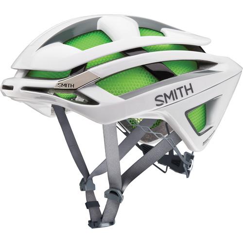 Smith Optics Overtake Bike Helmet (Large, Matte White Frost)