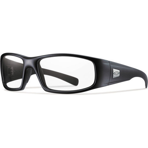 Smith Optics Hideout Elite Tactical Sunglasses (Black - Clear Lens)