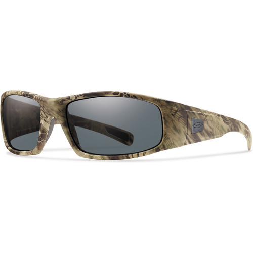 Smith Optics Hideout Elite Tactical Sunglasses (Kryptek Highlander - Gray Lens)