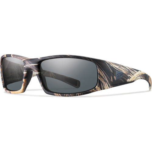 Smith Optics Hideout Elite Tactical Sunglasses (Realtree Max-4 - Gray Lens)