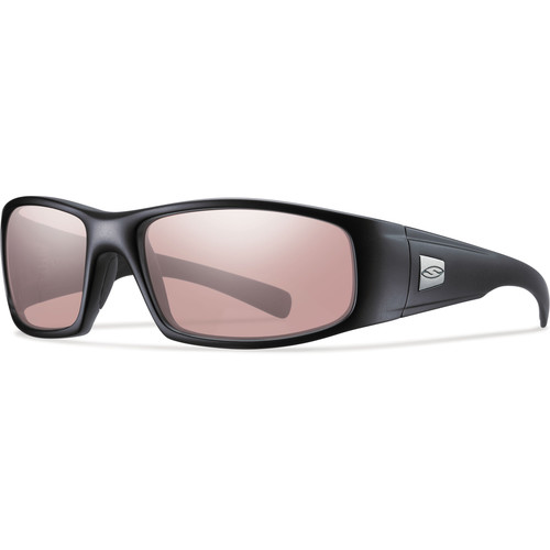 Smith Optics Hideout Elite Tactical Sunglasses (Black - Ignitor Mirror Lens)