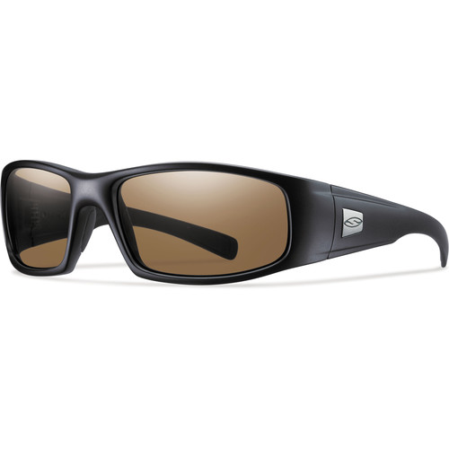 Smith Optics Hideout Elite Tactical Sunglasses (Black - Polarized Brown Lens)