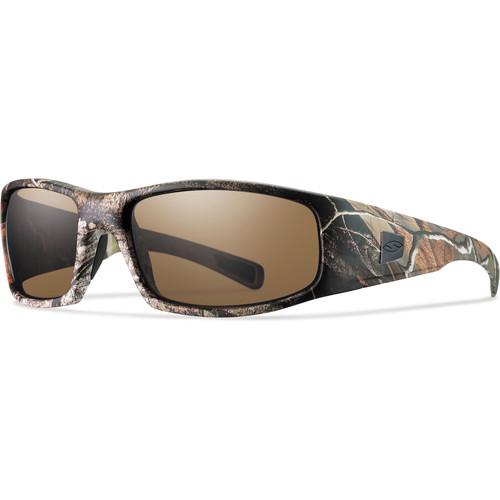 Smith Optics Hideout Elite Tactical Sunglasses (Realtree AP - Polarized Brown Lens)