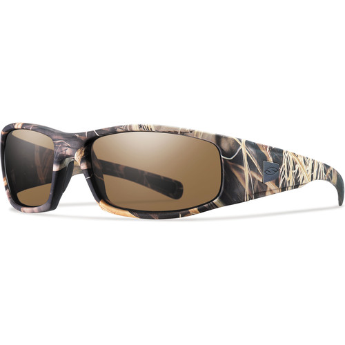Smith Optics Hideout Elite Tactical Sunglasses (Realtree Max-4 - Polarized Brown Lens)
