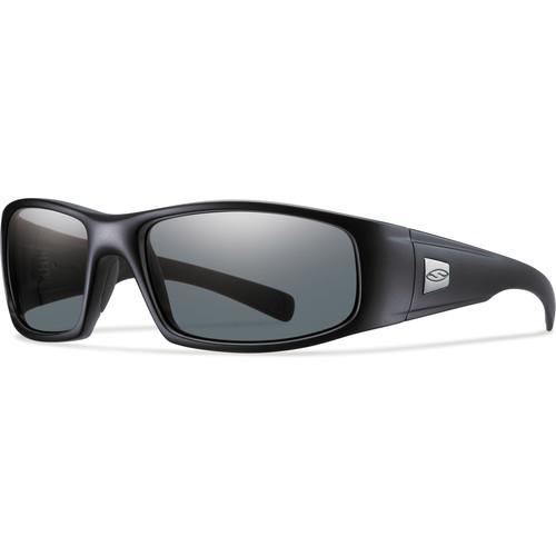 Smith Optics Hideout Elite Tactical Sunglasses (Black - Polarized Gray Lens)