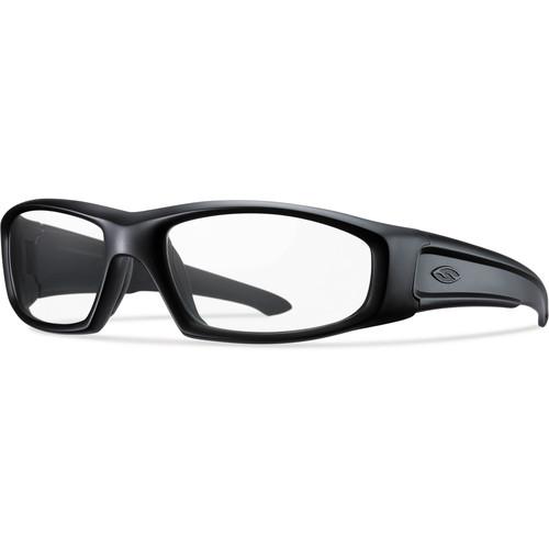 Smith Optics Hudson Elite Tactical Sunglasses (Black - Clear Lens)