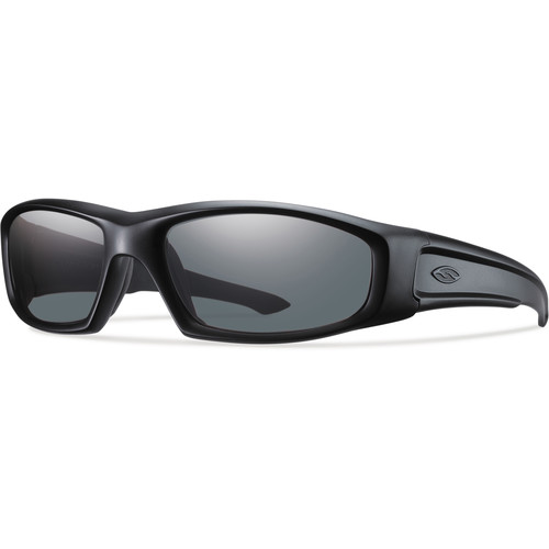 Smith Optics Hudson Elite Tactical Sunglasses (Black - Gray Lens)